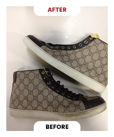 Designer shoe Cleaning in Toronto Before After Photo 2