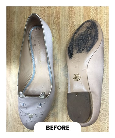 Designer shoe Cleaning in Toronto Before After Photo 5