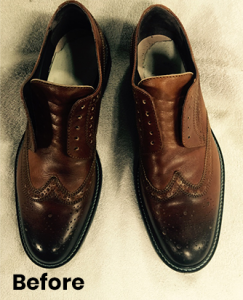 Shoe Cleaning Repair Before After 11