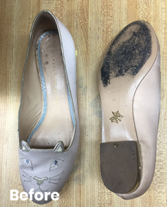 Shoe Cleaning Repair Before After 5