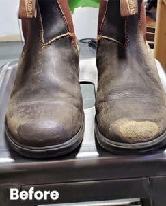 Shoe Cleaning Repair Before After 24